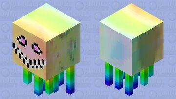 Ghast Rainbow Minecraft Mob Skin