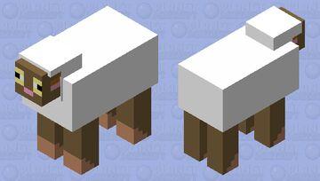 pokemon: wooloo Minecraft Mob Skin