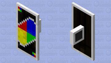 Uno Black Card (Shield Verison) Minecraft Mob Skin