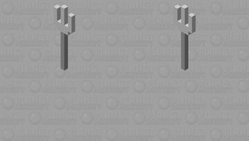 trident fork(don't actually work) Minecraft Mob Skin