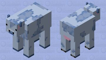 blueberry cow lets gooo Minecraft Mob Skin