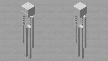 Alone 1244's mob shop: Enderman (Bones) Minecraft Mob Skin