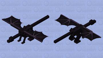 Realistic Enderdragon Minecraft Mob Skin