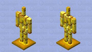 Golden Armorstand Minecraft Mob Skin