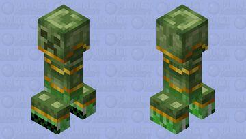 armoured creeper Minecraft Mob Skin