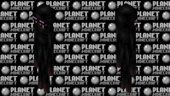 Improved Enderman Minecraft Skin