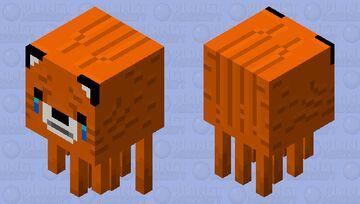 Sad Ghast Fox Minecraft Mob Skin