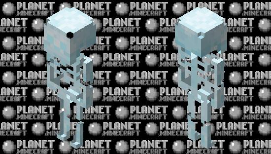 Better Stray Skeleton / no suit  / ver.2 Minecraft Skin