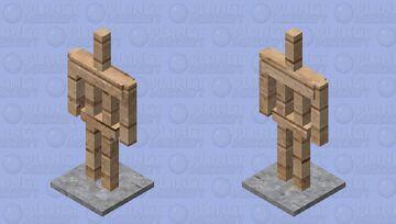 (512x) Photorealistic Armor Stand Minecraft Mob Skin