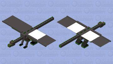 Jungle Temple Ender Dragon Minecraft Mob Skin