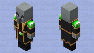 evoker cooler Minecraft Mob Skin