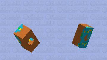 Breakfast Collection | Cyan Minecraft Mob Skin