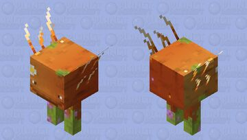 Summer Strider Minecraft Mob Skin
