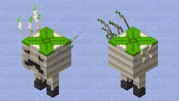 Onion Strider Minecraft Mob Skin