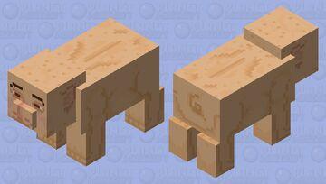 Pig Friend Minecraft Mob Skin