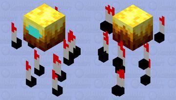 When blaze is sus Minecraft Mob Skin