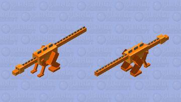 Tyrannosaurus Rex dinosaur ( Prehistoric Minecraft Mob Skin Contest ) Minecraft Mob Skin
