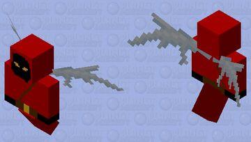 winged cultist Minecraft Mob Skin