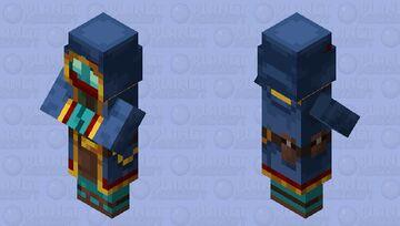 Glow trader Minecraft Mob Skin