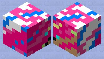 Abstract slime Minecraft Mob Skin