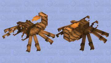 Realistic scorpion Minecraft Mob Skin