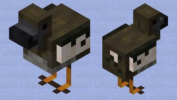 Dodo Minecraft Mob Skin