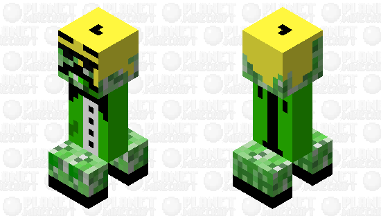 cool creeper Minecraft Skin