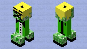 cool creeper Minecraft Mob Skin