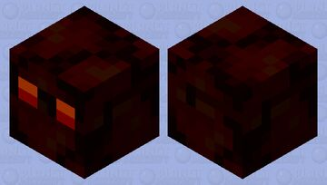 creepy magma cube Minecraft Mob Skin