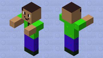 Kid Zombie (Male) Minecraft Mob Skin