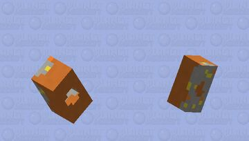 Breakfast Collection | Gray Parrot Minecraft Mob Skin