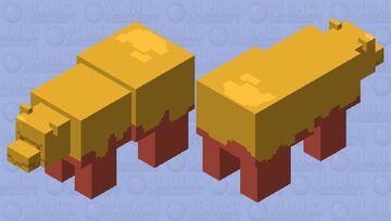 Candy Apple Bear Minecraft Mob Skin