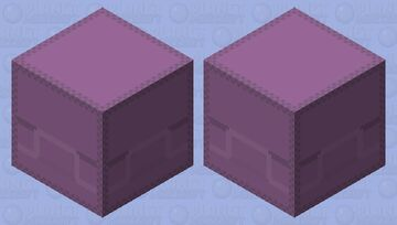 Better shulker: re-textured/green/yellow/for end city/happy Minecraft Mob Skin