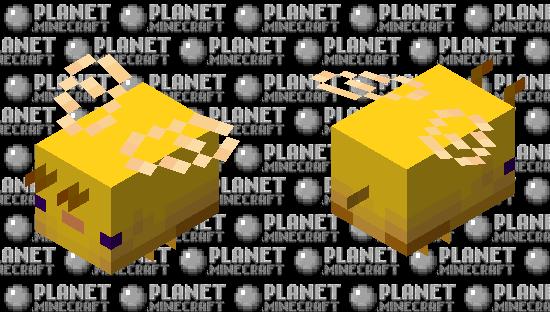 Beexolotl (Golden) Minecraft Skin