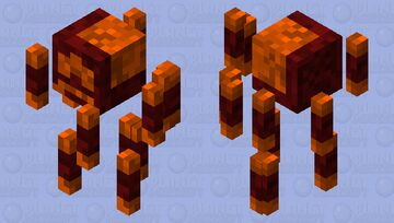Netherrack blazes! Minecraft Mob Skin