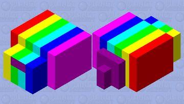 rainbowmite Minecraft Mob Skin