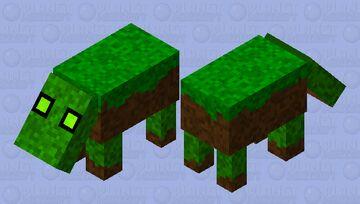 grass Hoglin (Biome swap) Minecraft Mob Skin