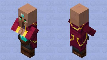 The Mysterious Mage (Retexture) (Enchanter?) Minecraft Mob Skin