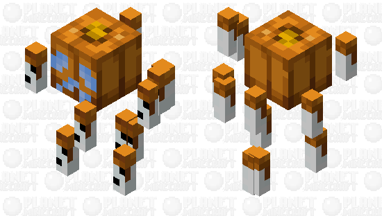 Snowman Blaze - Biome Swap Minecraft Skin