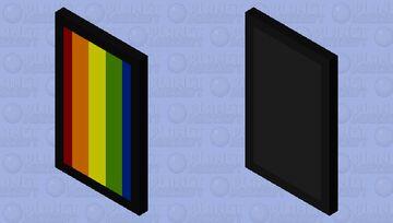 JA rainbow cape and elytra Minecraft Mob Skin