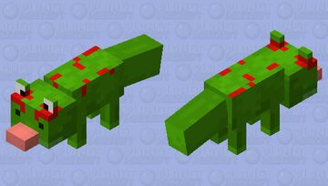 Gecko (remade) Minecraft Mob Skin