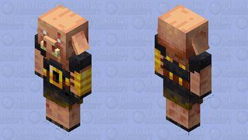 Piglin Brute Minecraft Mob Skin