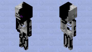 Mutated EnderSkeleton Minecraft Mob Skin