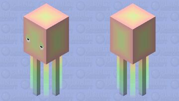 Rainbow pastel squid aspirin60, this is for you. Minecraft Mob Skin