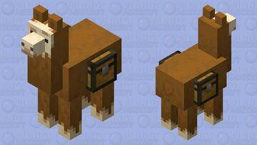 Llama wondering Minecraft Mob Skin