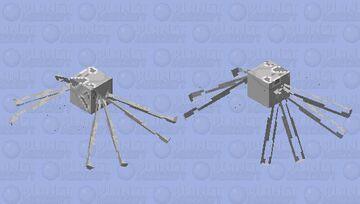 Ocean Spider Minecraft Mob Skin