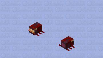 spider / original size / From Crimson Forest / remade Minecraft Mob Skin