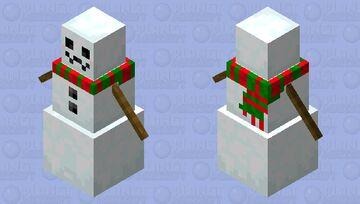 Pretty Snow Golem! Minecraft Mob Skin