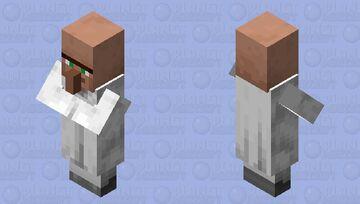 Pillager Inspired Villager (Librarian) Minecraft Mob Skin