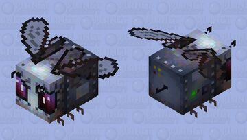 robotic-spy-bee (rusty) Minecraft Mob Skin